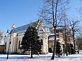 2013 Sobański Palace & Church in Guzów - 04.jpg