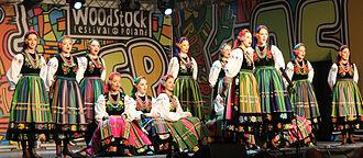 Mazowsze (folk group) - Mazowsze at Przystanek Woodstock in 2013