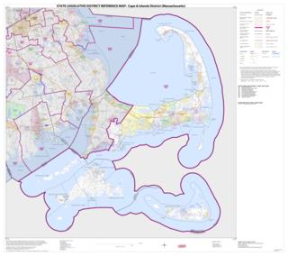 Massachusetts Senates Cape and Islands district American legislative district