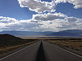 2014-08-09 15 47 32 View west along U.S. Routes 6 and 50 about 80.3 miles east of the Nye County line in White Pine County, Nevada.JPG