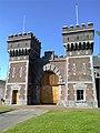 2015, Scheveningen Prison The Hague, old main gate (13).jpg