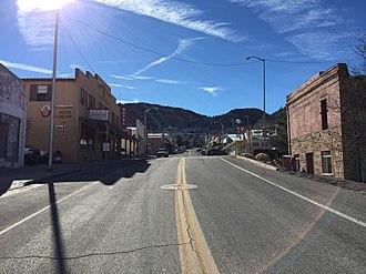 Pioche, Nevada - Main Street in Pioche
