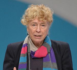 Gesine Schwan - Image: 2015 12 Gesine Schwan SPD Bundesparteitag by Olaf Kosinsky 8