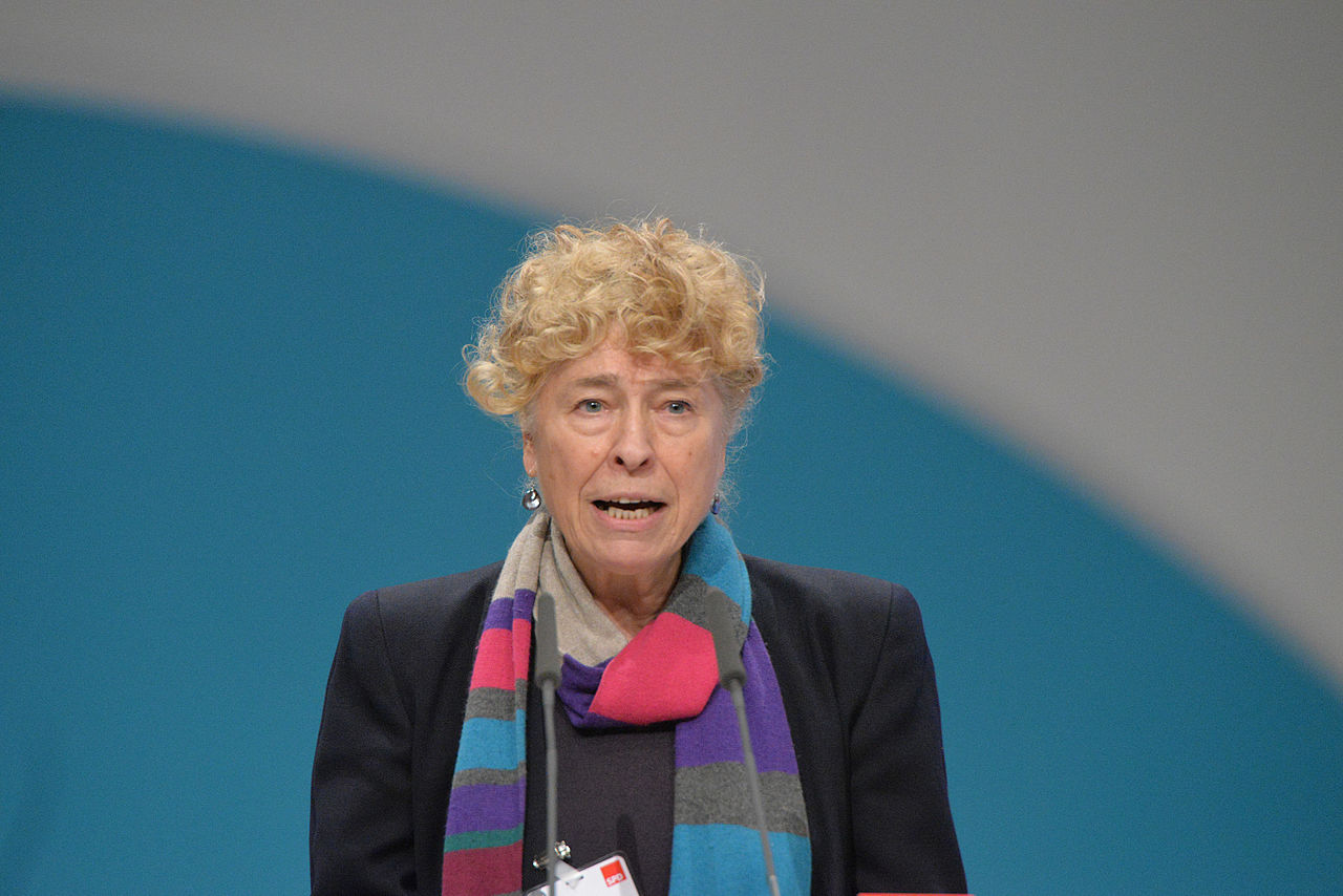 2015-12 Gesine Schwan SPD Bundesparteitag by Olaf Kosinsky-9.jpg