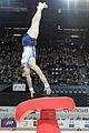 2015 European Artistic Gymnastics Championships - Vault - Andrey Medvedev 03.jpg