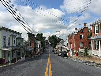 Keedysville, Maryland - Main Street in Keedysville