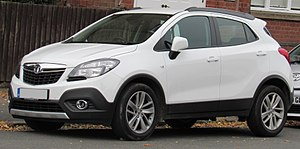 Opel Mokka - Vauxhall Mokka 1.4 Exclusiv Turbo (United Kingdom)