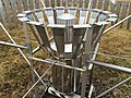 2017-12-23 10 48 44 Close-up of the All-Weather Precipitation Accumulation Gauge (AWPAG) on the Automated Surface Observing System (ASOS) at Washington Dulles International Airport in Chantilly, Fairfax County, Virginia.jpg