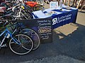 2017 ride was invited to have it's end point at the Pop Up Plaza in Herald Parking lot sponsored by Sustainable Connections. (35083064521).jpg