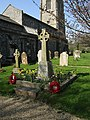 2018-04-20 War memorial, Parish church of Saint Mary the Virgin, Northrepps, Cromer (2).JPG