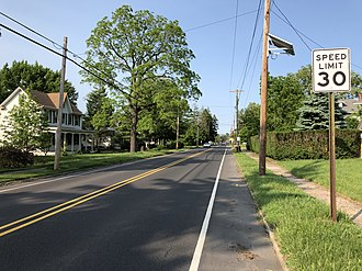 Beverly, New Jersey - CR 543, the most prominent road in Beverly