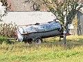 2018-10-22 (501) Liquid manure trailer Kirchner Economy 4000 in Oberndorf bei Raabs, Raabs an der Thaya, Austria.jpg