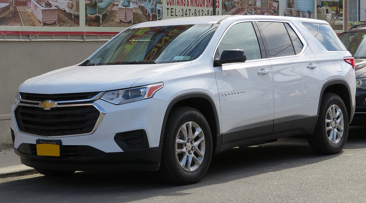 Px Chevrolet Traverse Front