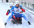 2019-01-25 Doubles Sprint Qualification at FIL World Luge Championships 2019 by Sandro Halank–224.jpg
