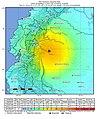 2019-02-22 Palora, Ecuador M7.5 earthquake shakemap (USGS).jpg