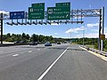 2019-06-14 14 09 55 View north along the Outer Loop of the Baltimore Beltway (Interstate 695) at Exit 35A (U.S. Route 40 WEST-Pulaski Highway, Baltimore) on the edge of Rosedale and Rossville in Baltimore County, Maryland.jpg