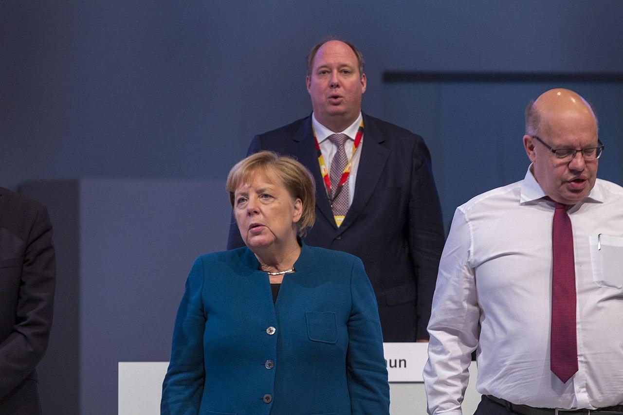 2019-11-23 Angela Merkel CDU Parteitag by OlafKosinsky MG 6538.jpg