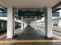 201908 Exit Sign on Platform 2,3 of Loudi Station.jpg