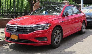 Volkswagen Jetta Small family car manufactured by Volkswagen
