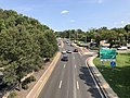 2020-08-26 16 09 56 View south along the southbound lanes of Maryland State Route 202 (Landover Road) from the overpass for Maryland State Route 295 (Baltimore-Washington Parkway) in Landover, Prince George's County, Maryland.jpg