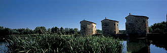 Zamora, Spain - Aceñas de Olivares (mills on the river Duero)