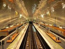 Exemple de station am nag e en style motte porte de - Porte de charenton metro ...
