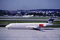 260ao - Scandinavian Airlines MD-87, OY-KHI@ZRH,22.09.2003 - Flickr - Aero Icarus.jpg