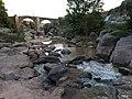 274 Pont Vell sobre el Llobregat (el Pont de Vilomara).JPG