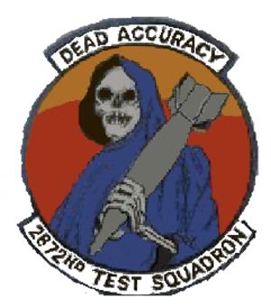 15th Test Squadron - 2872d Test Squadron emblem