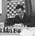 28e Hoogoven schaaktoernooi te Beverwijk, Polugajevski (Rusland), Bestanddeelnr 918-6670.jpg