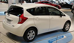 2nd generation Nissan Note rear.jpg