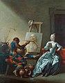 345 Джованні Доменіко Ферретті Арлекін-художник до 1751.jpg