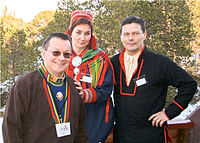 The three first Sámi Presidents of Norway