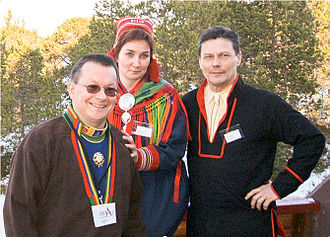 Finno-Ugric peoples - Image: 3Norw Sami Presidents