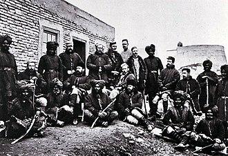 John Cook (VC) - 3rd Sikh Infantry at Kabul, 1879.