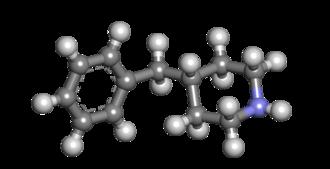 4-Benzylpiperidine - Image: 4 benzylpiperidine