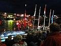 4-daagse Nijmegen 2011 Vlaggenparade 32, afsluiting.JPG