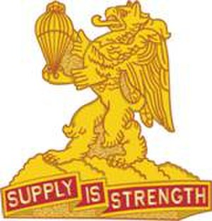 407th Forward Support Battalion - Image: 407 Spt Bn DUI Left