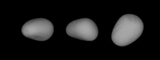 44 Nysa - Lightcurve-based 3D-model of Nysa