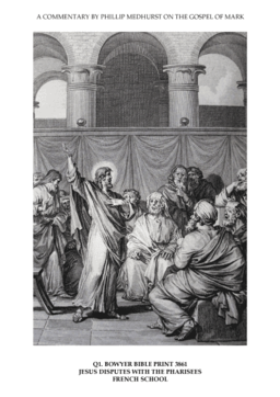50 Mark's Gospel Q. disputes with the establishment image 1 of 3. Jesus disputes with the Pharisees. French School