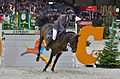54eme CHI de Genève - 20141213 - Prix Credit Suisse - Ludger Beerbaum et Chaman 5.jpg