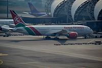 5Y-KZE - B788 - Kenya Airways