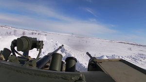 File:61st Naval Infantry Brigade's exercise in Murmansk Oblast (16-04-2020).webm