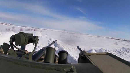 File:61st Naval Infantry Brigade's exercise in Murmansk Oblast (16-04-2020).webm