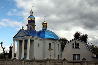 Ostropol - A church in Ostropol