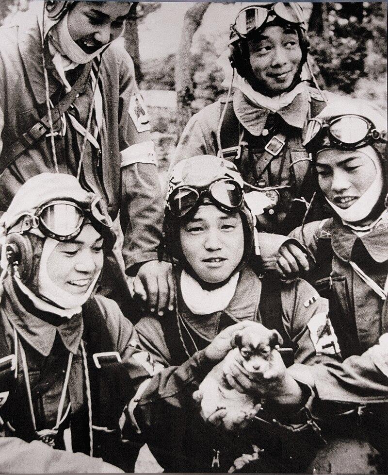 الجيش الياباني: ورثة الساموراي بين الوهم والحقيقة 800px-72nd_Shinbu_1945_Kamikaze