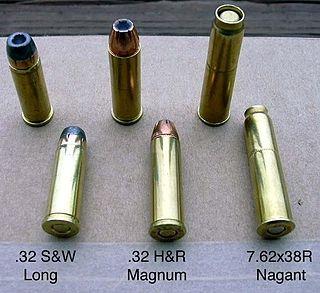 .32 S&W Long cartridge