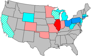 United States House of Representatives elections, 1940 - Image: 77 us house changes