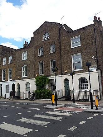Graham Henderson (cultural entrepreneur) - 8 Royal College Street in 2015, after restoration