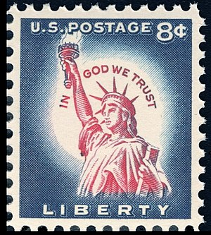 Liberty Issue - 8¢ Liberty stamp